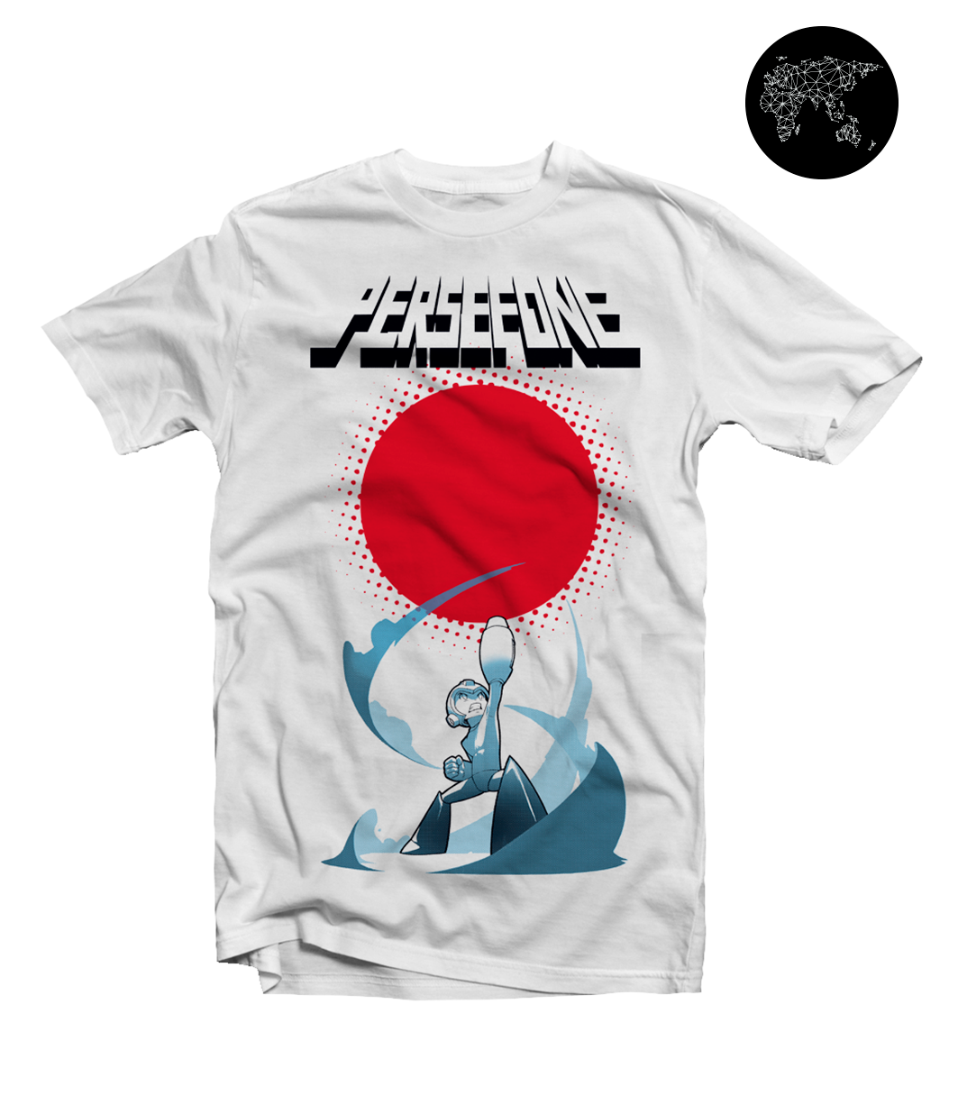Persefone - Megaman T-shirt