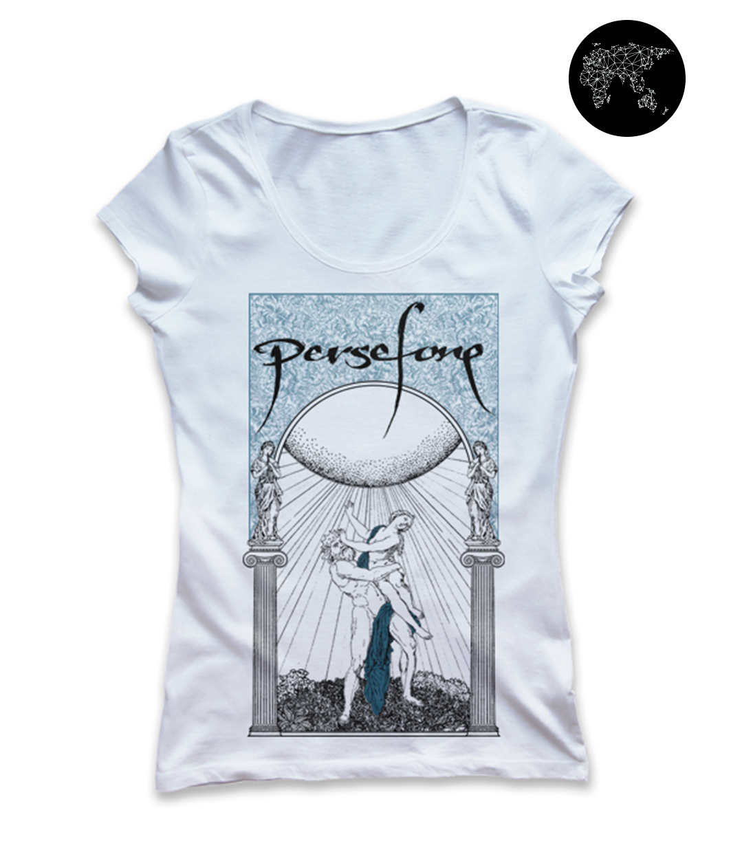 Persefone Goddess and Hades T-shirt Europe