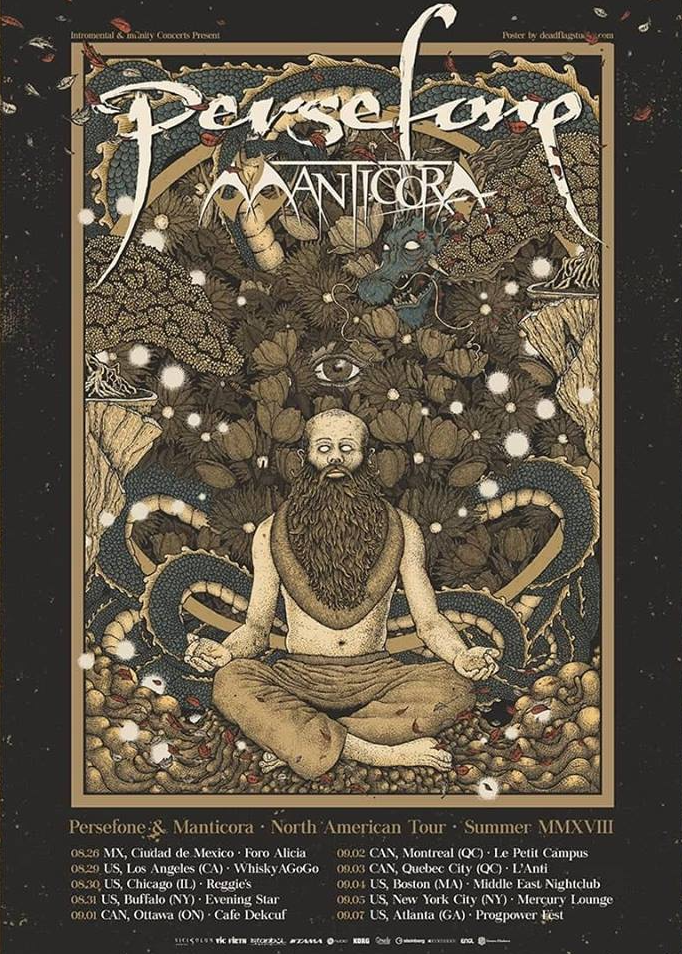 Persefone & Manticora - North American Tour - Summer 2018