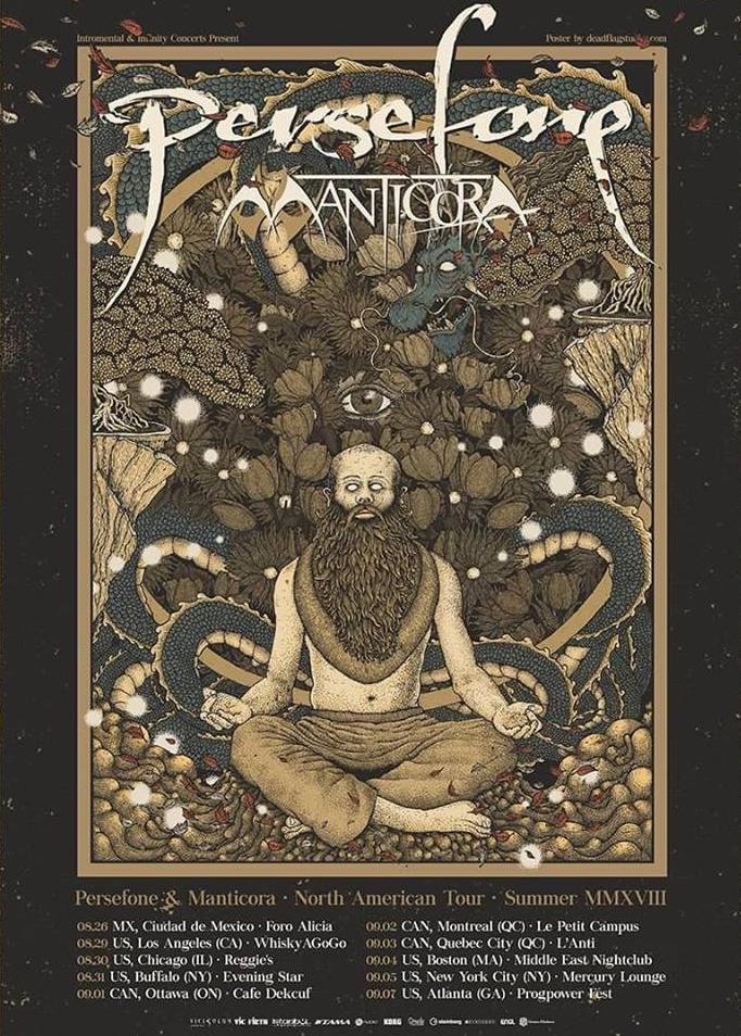 Persefone & Manticora - North American Tour - Summer 2018